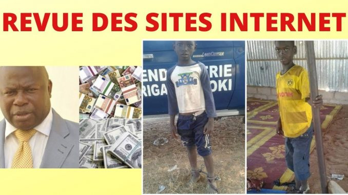 revue des sites internet du senegal